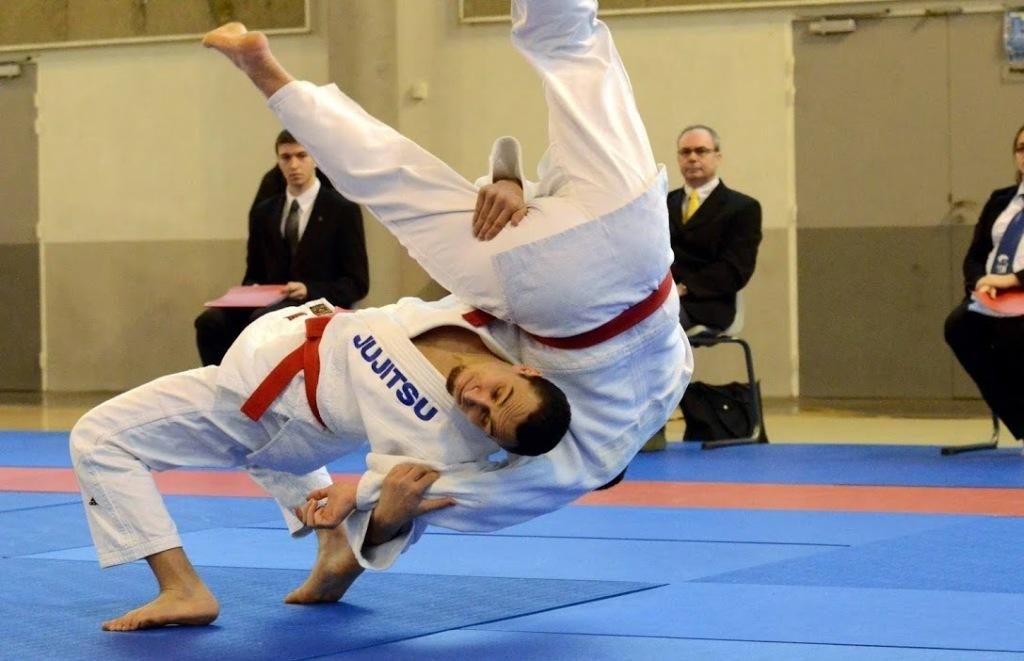 Des podiums au tournoi international Jujitsu d'Orléans
