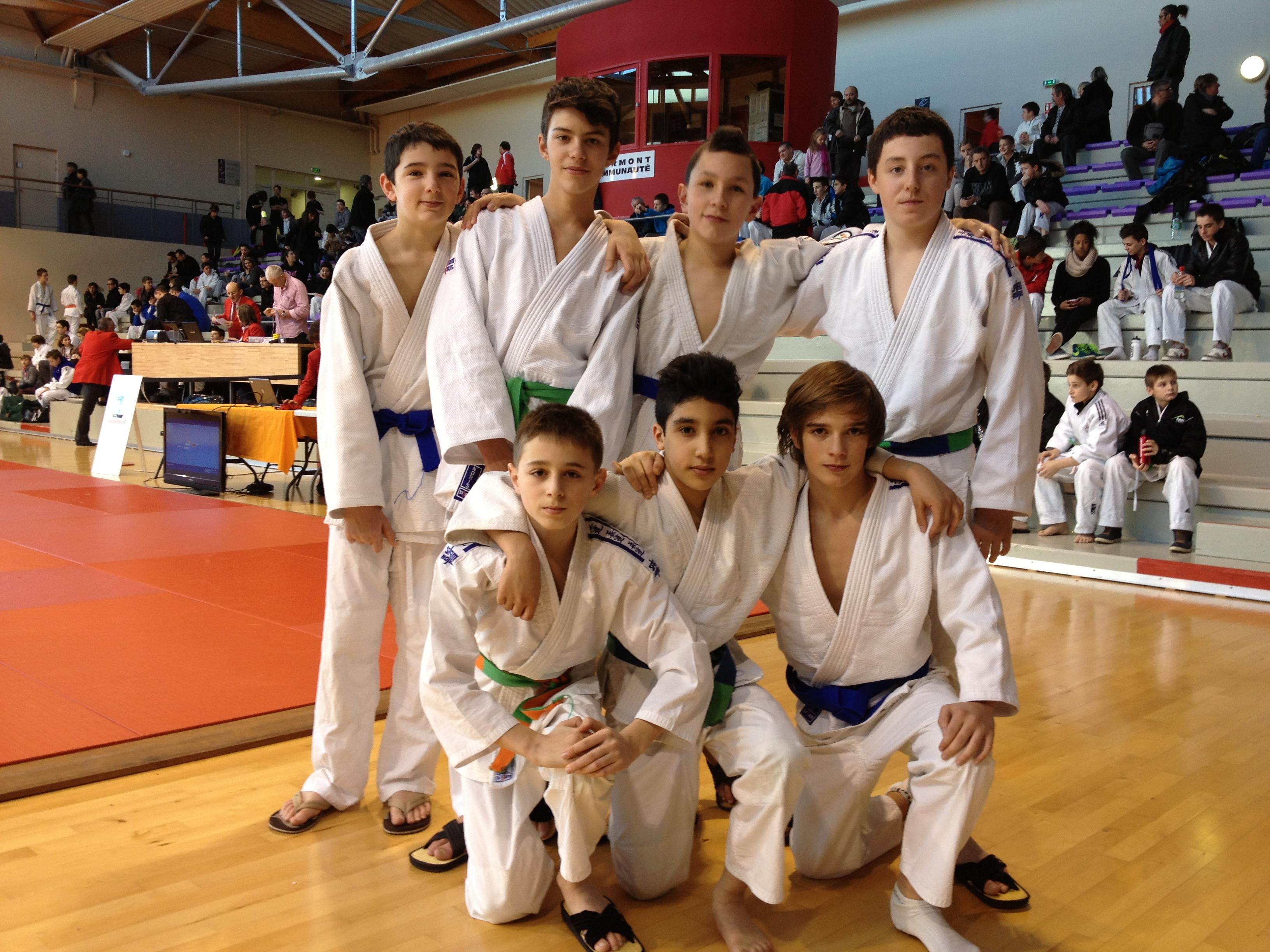 Deux podiums aux championnats d'Auvergne Minimes