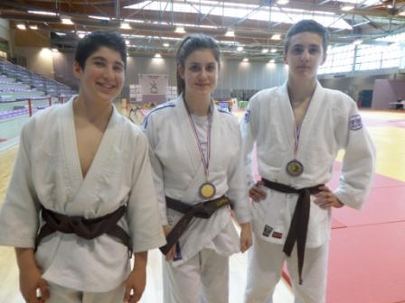 Deux sélectionnés pour la coupe de France cadets et des médailles en seniors