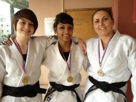 Tournoi National Jujitsu à Lyon, les féminines au top !