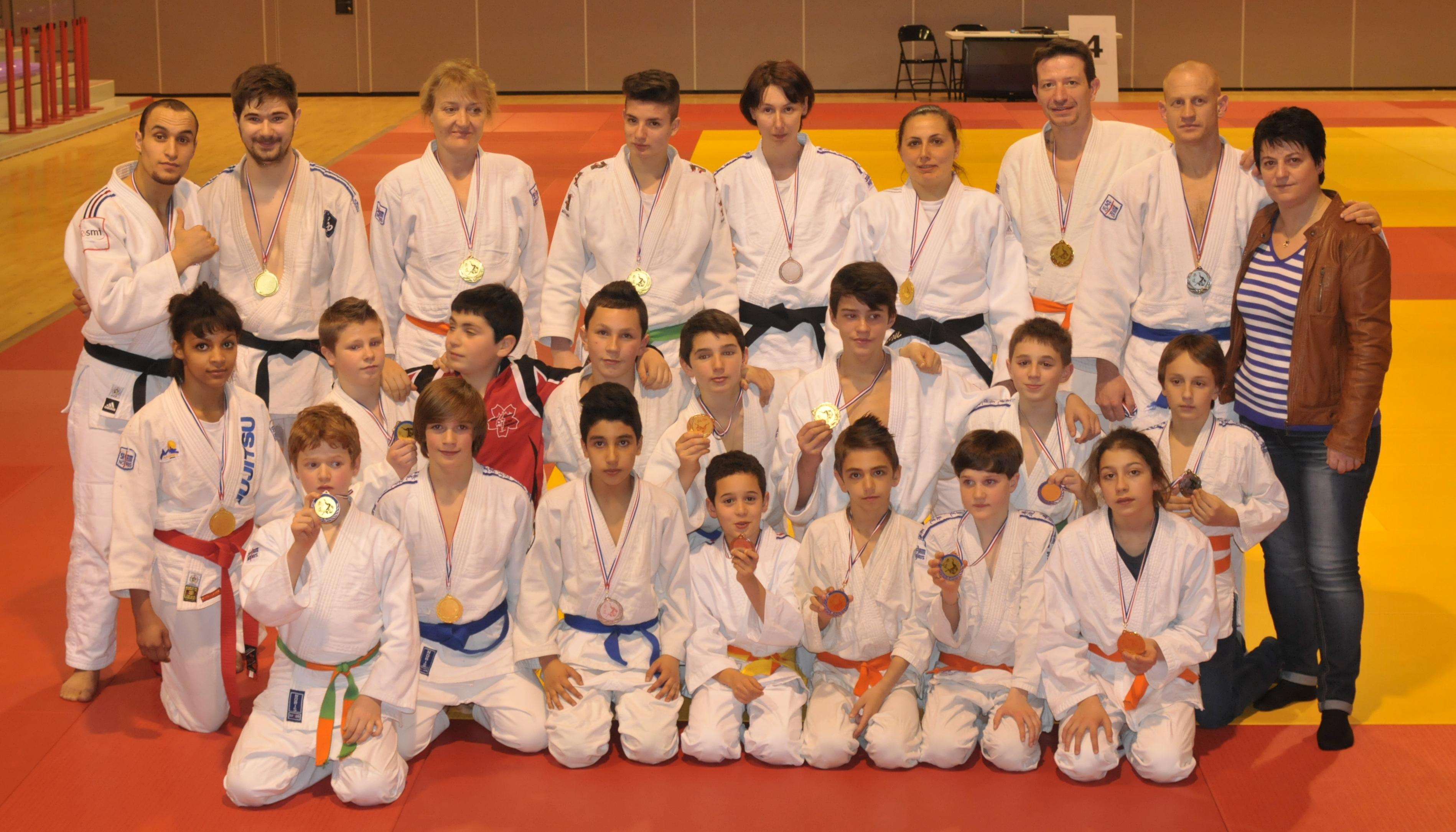 Carton plein pour les jujitsukas aux régions