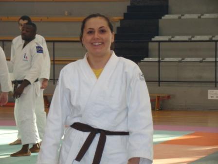 Marie Géraud ceinture Noire