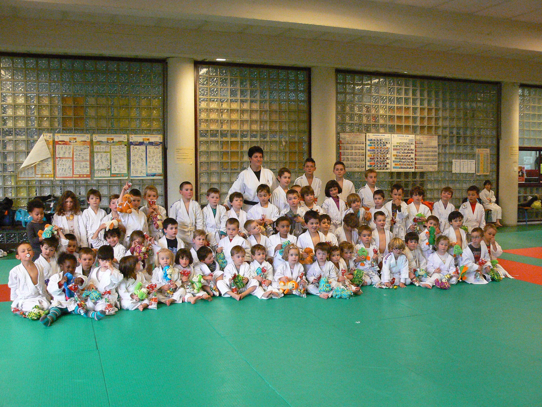 Noel avec l'école de Judo