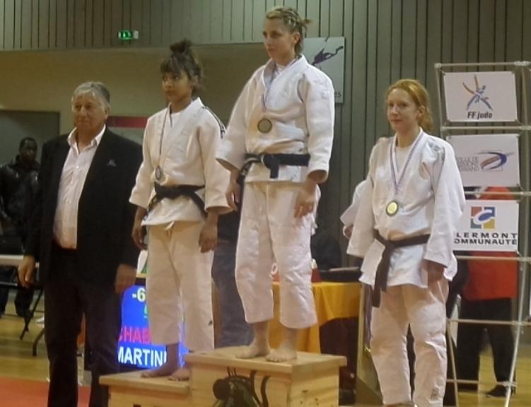 Performances aux championnats d'Auvergne seniors