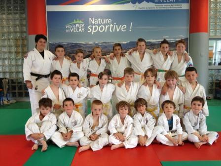 Stage de perfectionnement pour les jeunes judokas