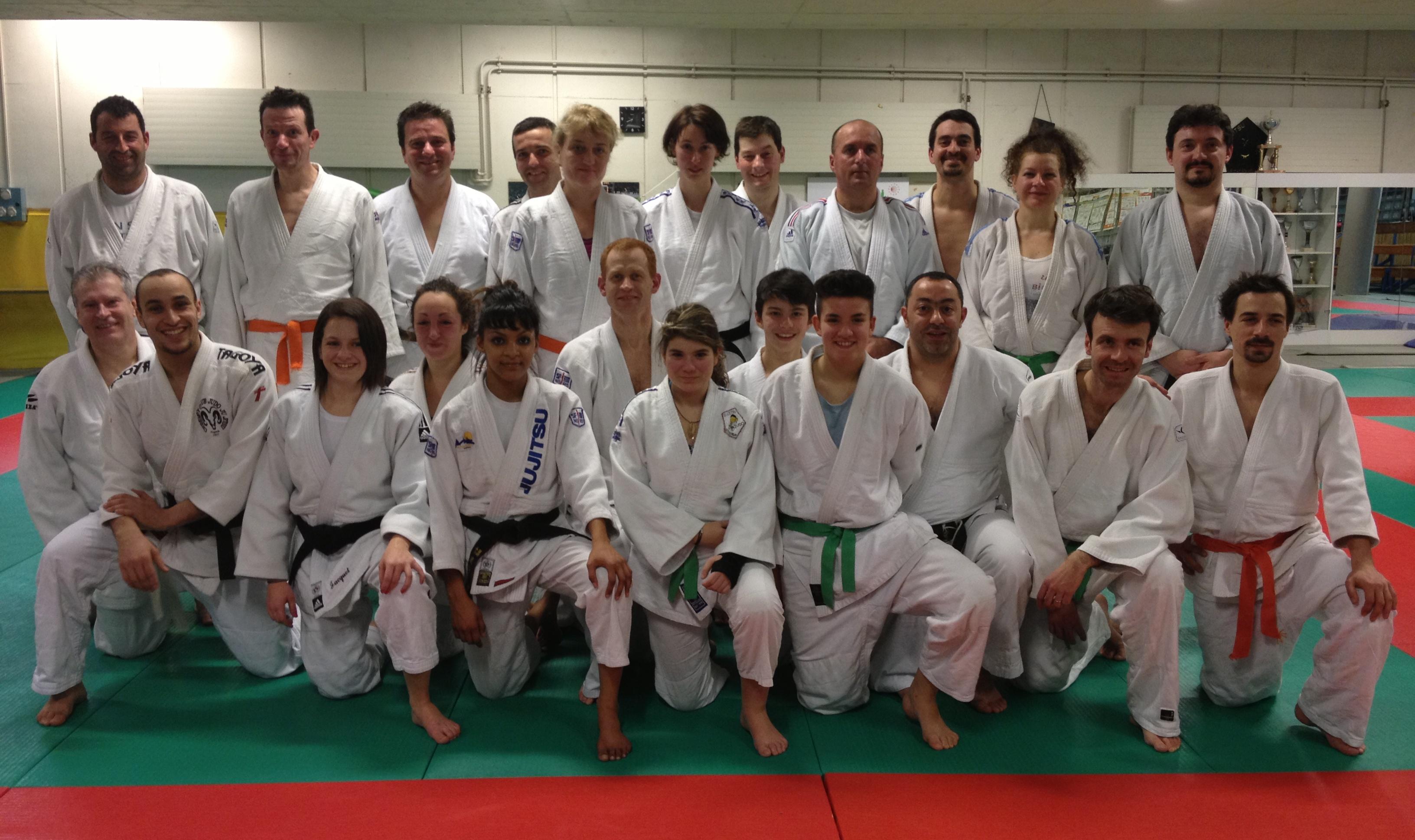 Un entrainement convivial pour les jujitsukas du Puy et Monistrol