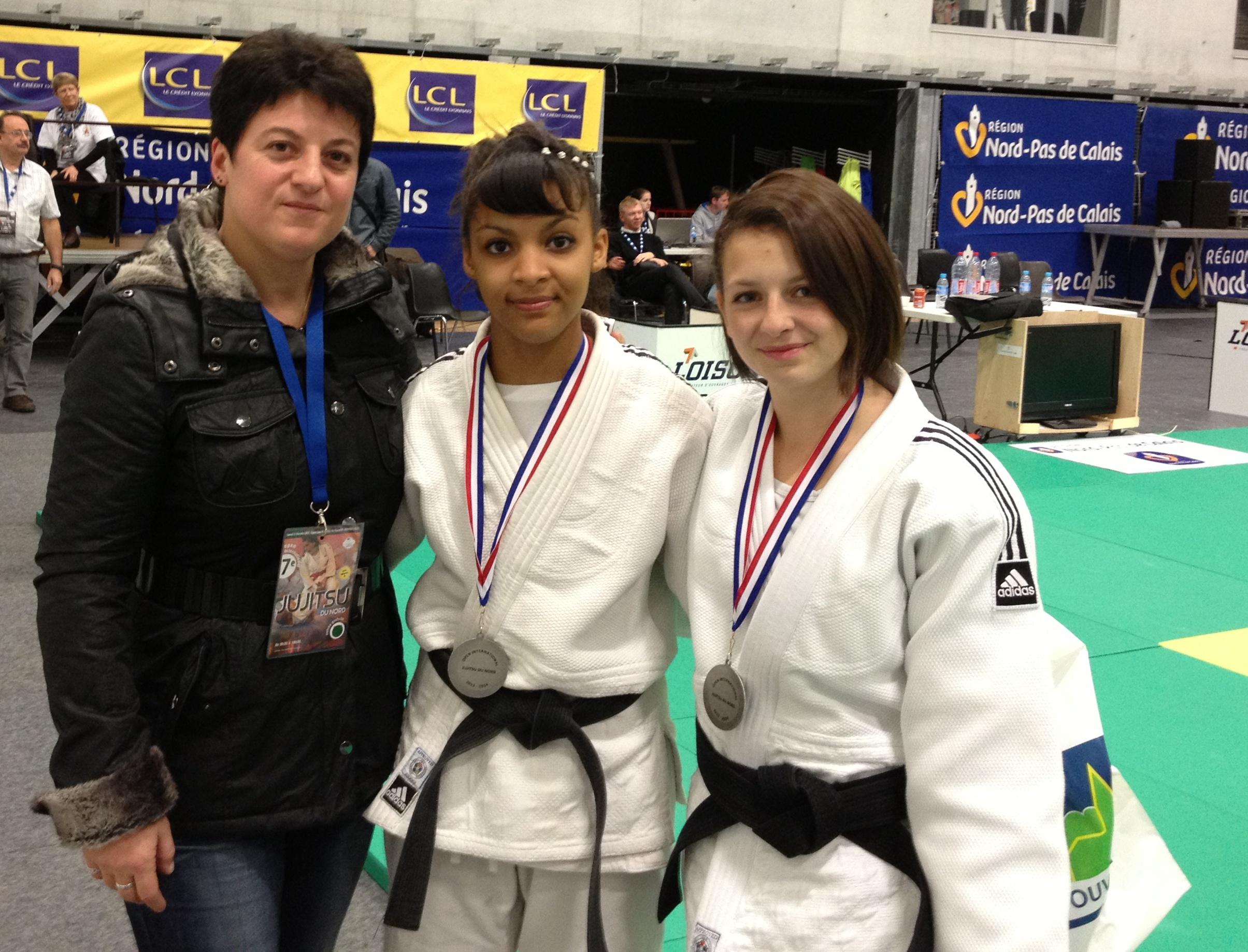 Les ponotes 2 èmes à l'Open International Jujitsu du Nord