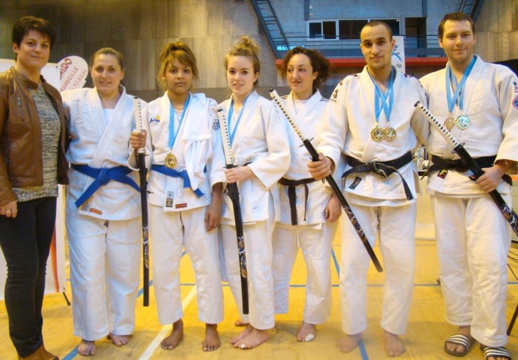 médailles open national Marseille