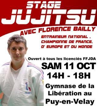 Stage Jujitsu avec Florence Bailly