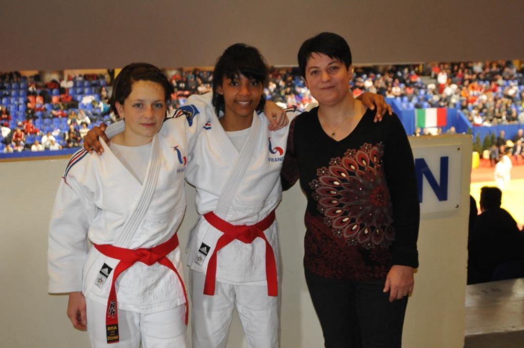 Les féminines 5è au Mondial Jujitsu 2015