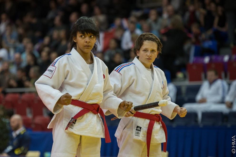 Le duo féminin 5è aux championnats du Monde Jujitsu