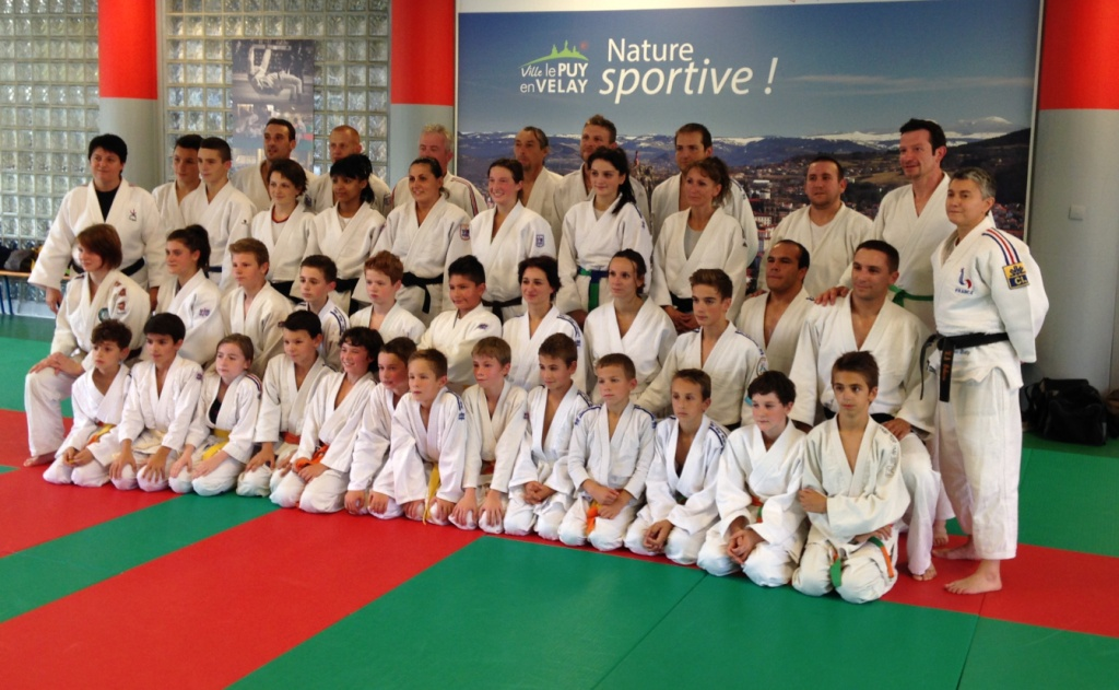 Stage Jujitsu avec Florence Bailly , entraineur National