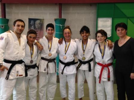 Belles performances à l'open national Jujitsu d'Angers