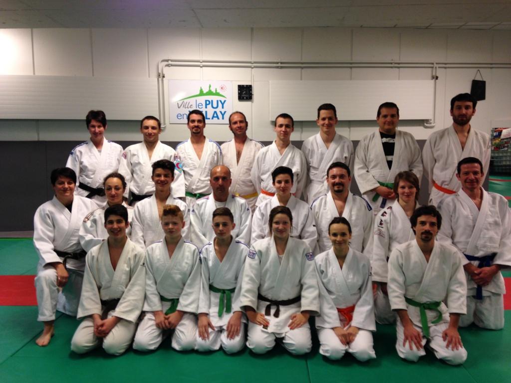 Le Puy et Monistrol réunis pour un entrainement Jujitsu