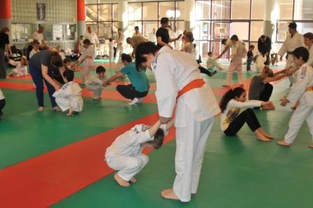 Le judo : du bonheur en famille