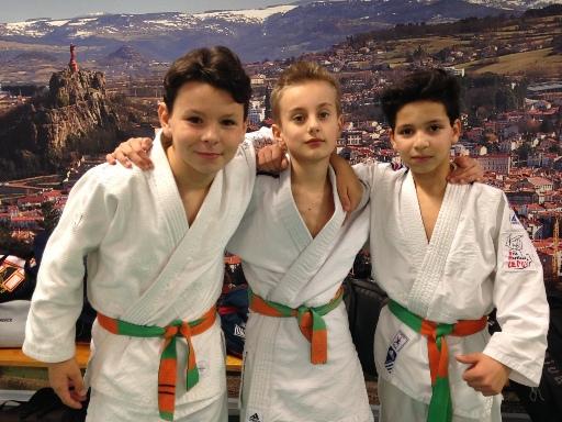 Beaux résultats des judokas au circuit régional benjamins