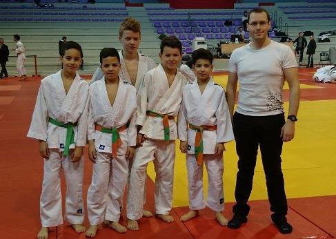 Bons résultats des jeunes à l'open jujitsu combat Auvergne Rhône Alpes
