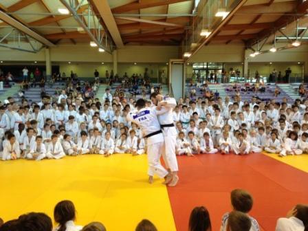 Les judokas ponots en nombre à la fête du judo Auvergnat