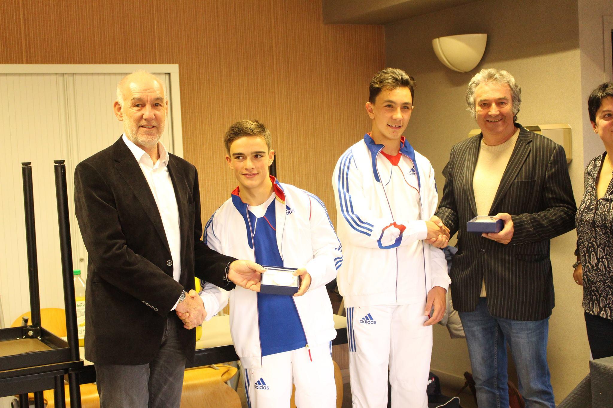 Judo en famille et réception pour nos champions d'Europe