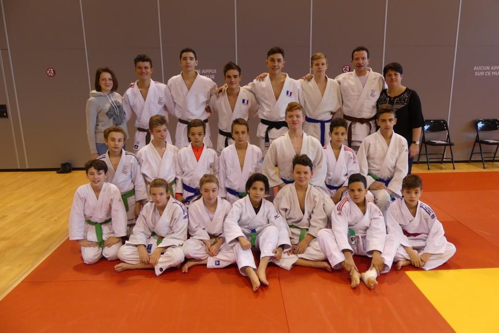 Le club ponot premier à l'open régional jujitsu de Ceyrat