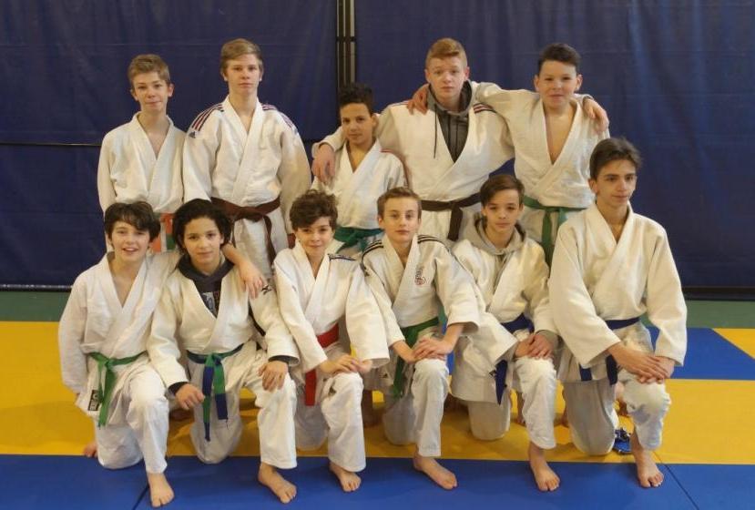 premier club à l open regional jujitsu de Claix
