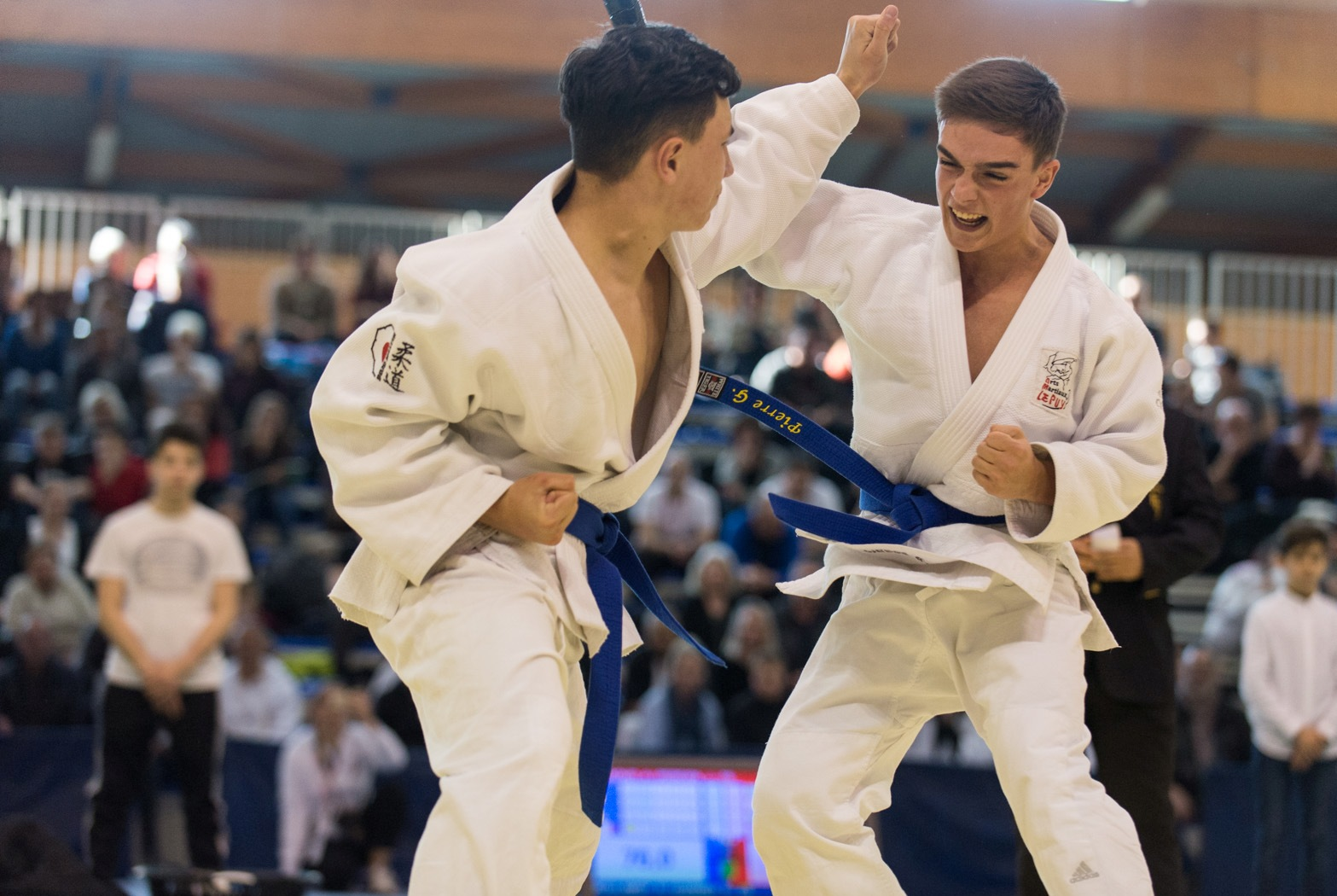 Rémi Boulamoy / Pierre Guinant champions de France Jujitsu