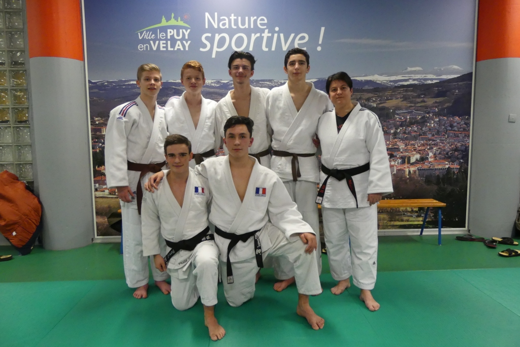 6 sélectionnés aux championnats de France Jujitsu