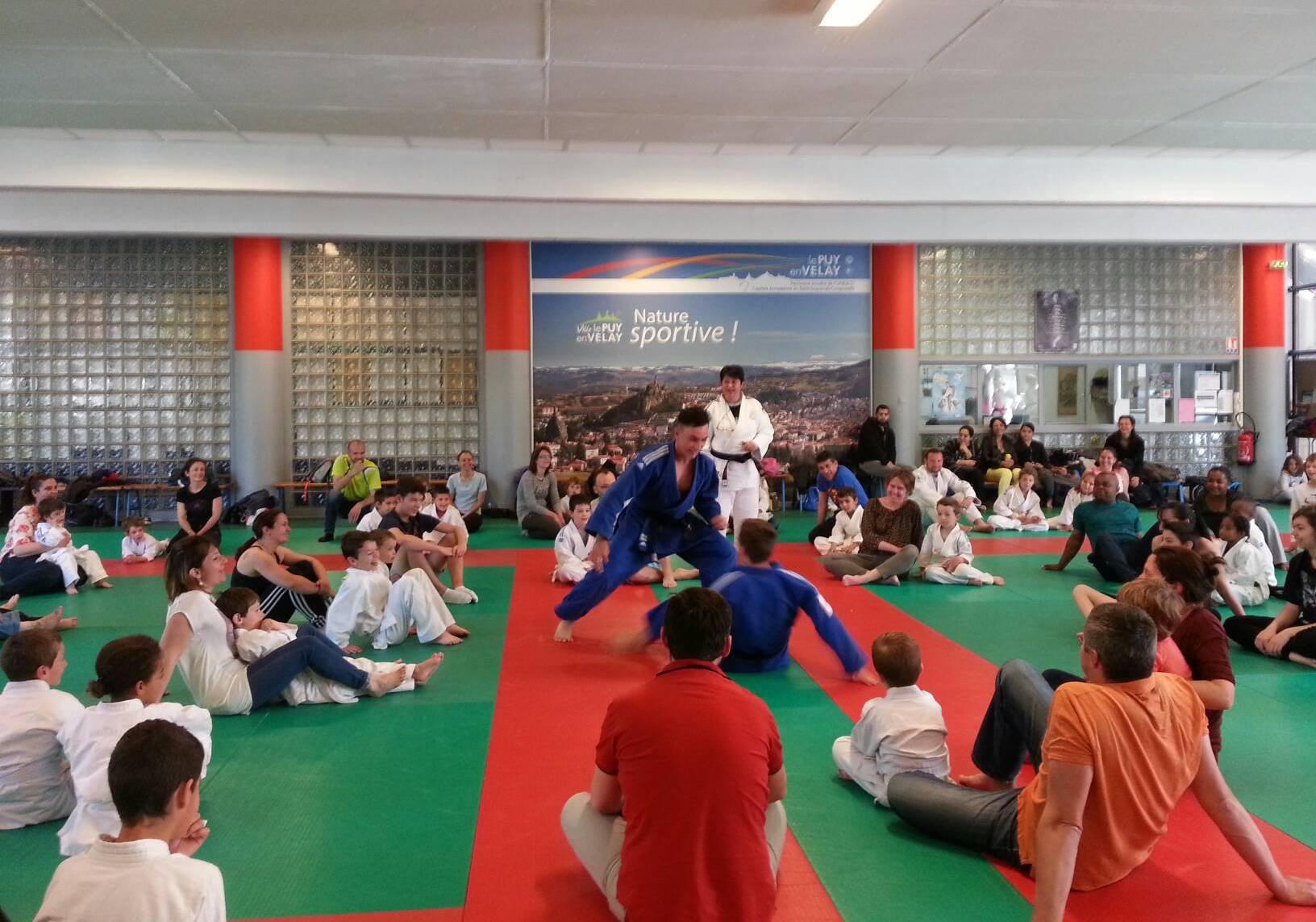Dojo en folie pour l'animation judo en famille !