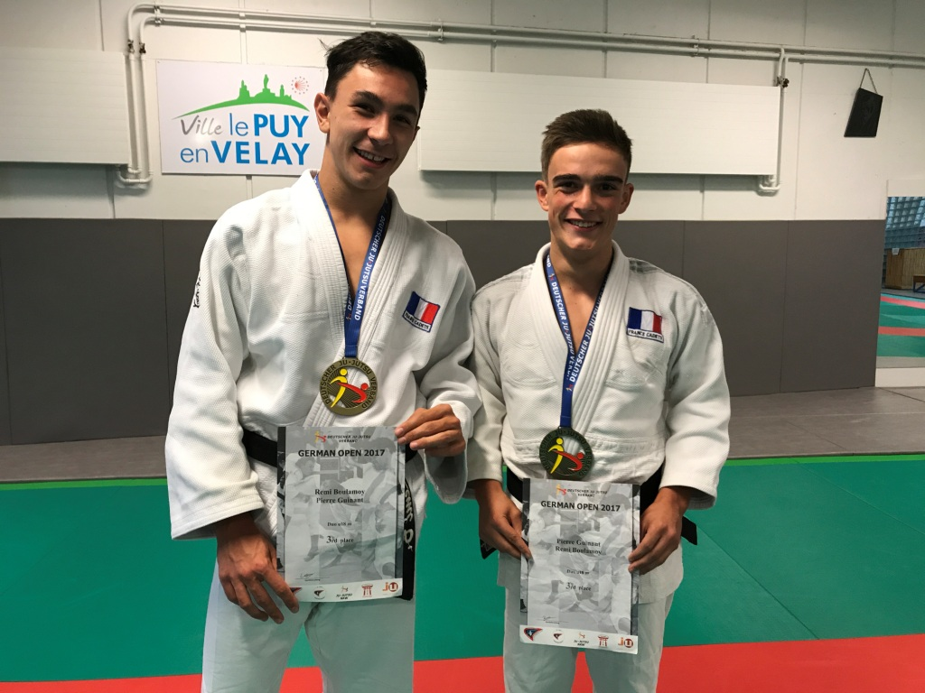 Le bronze à l'open international Jujitsu d'Allemagne