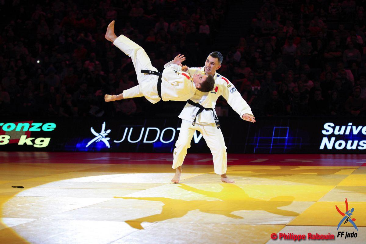Les jujitsukas du Puy à l'honneur au grand Slam de Paris Bercy