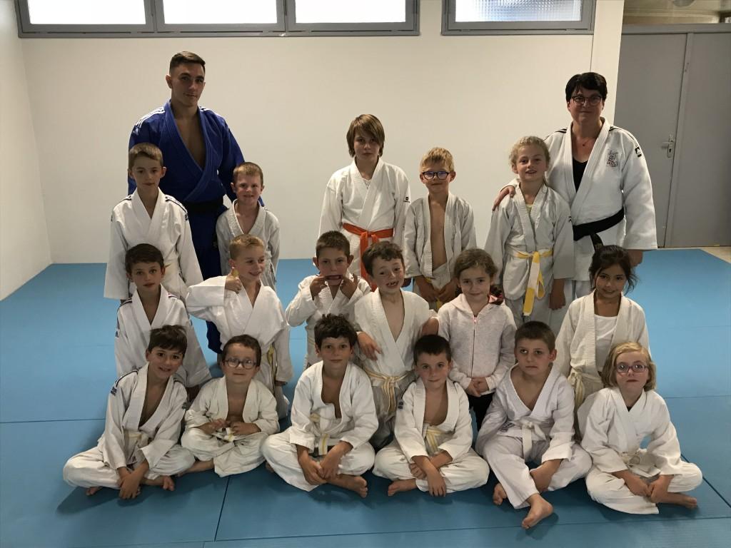 Groupe judo enfants