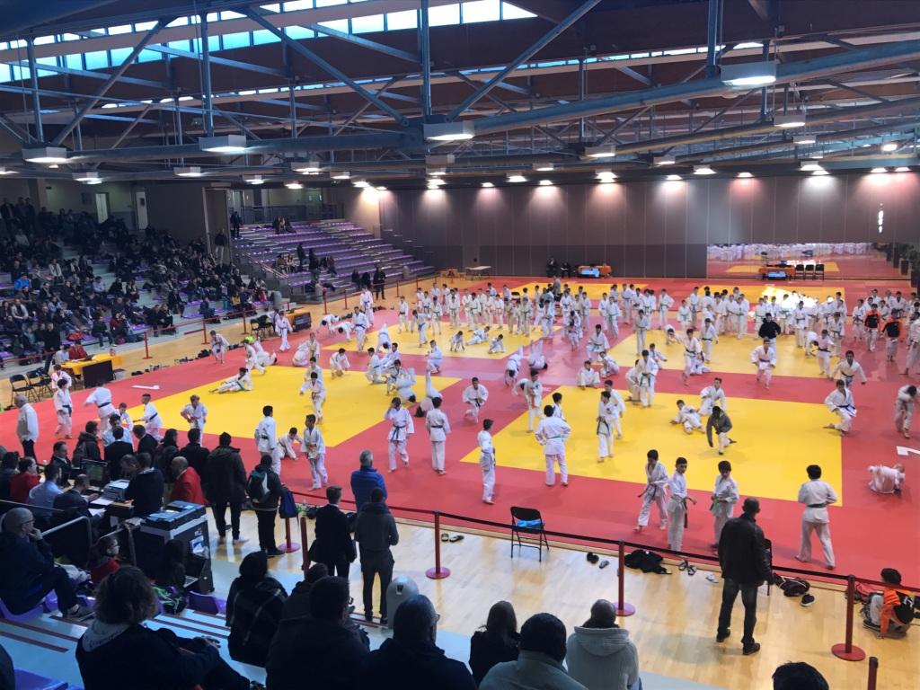 Les judokas benjamins aux régions