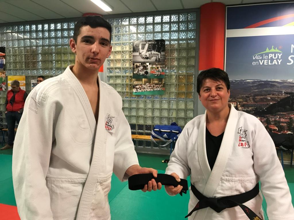Rémi Callé  130 è ceinture noire formée au club