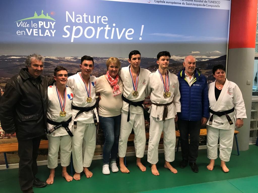 Réception en l'honneur de nos champions Jujitsu