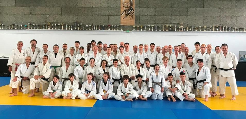 Echange reussi entre l'ASM Clermont judo et Le Puy