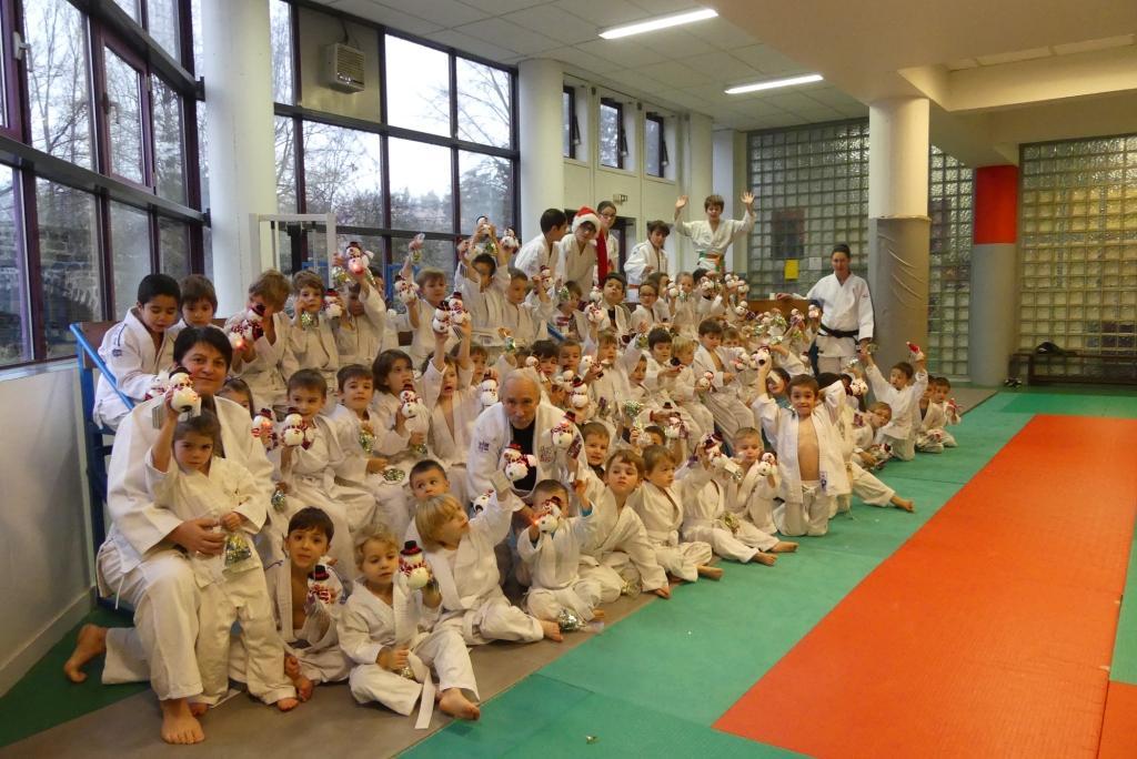 Noel pour les baby judo