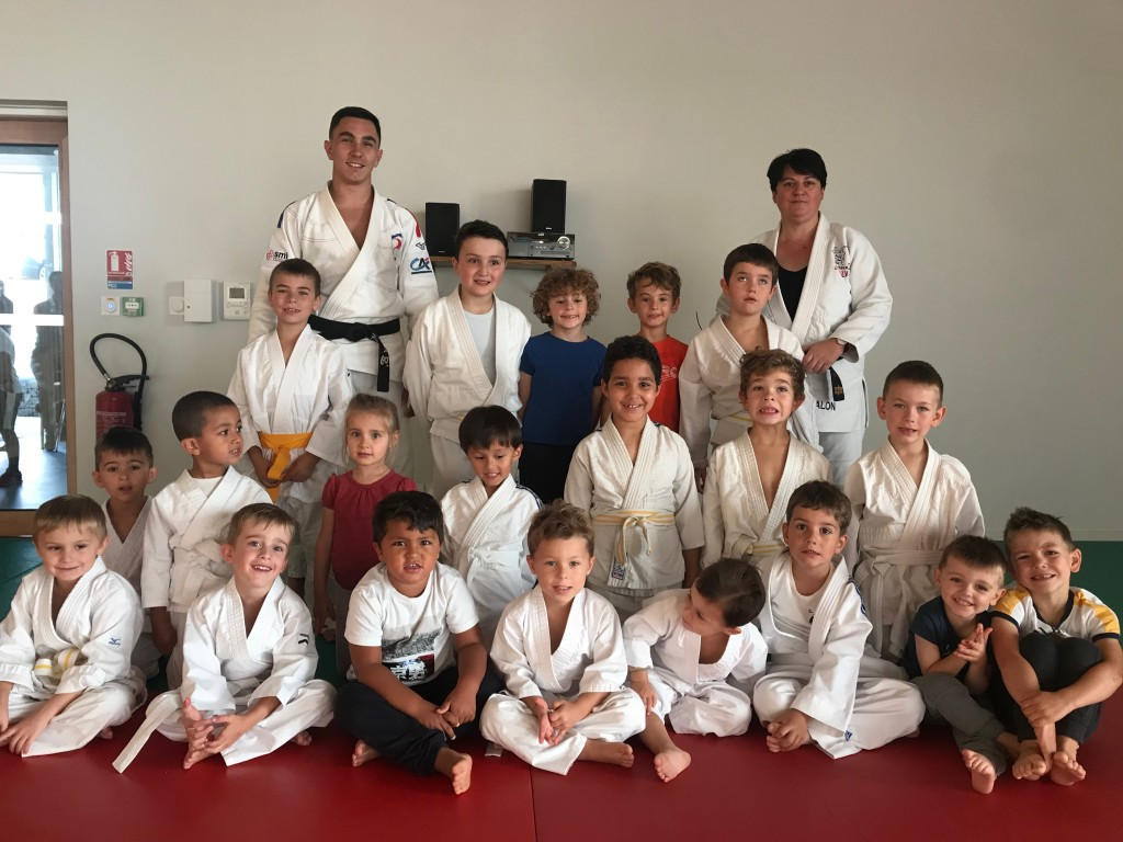 section judo enfants Vals