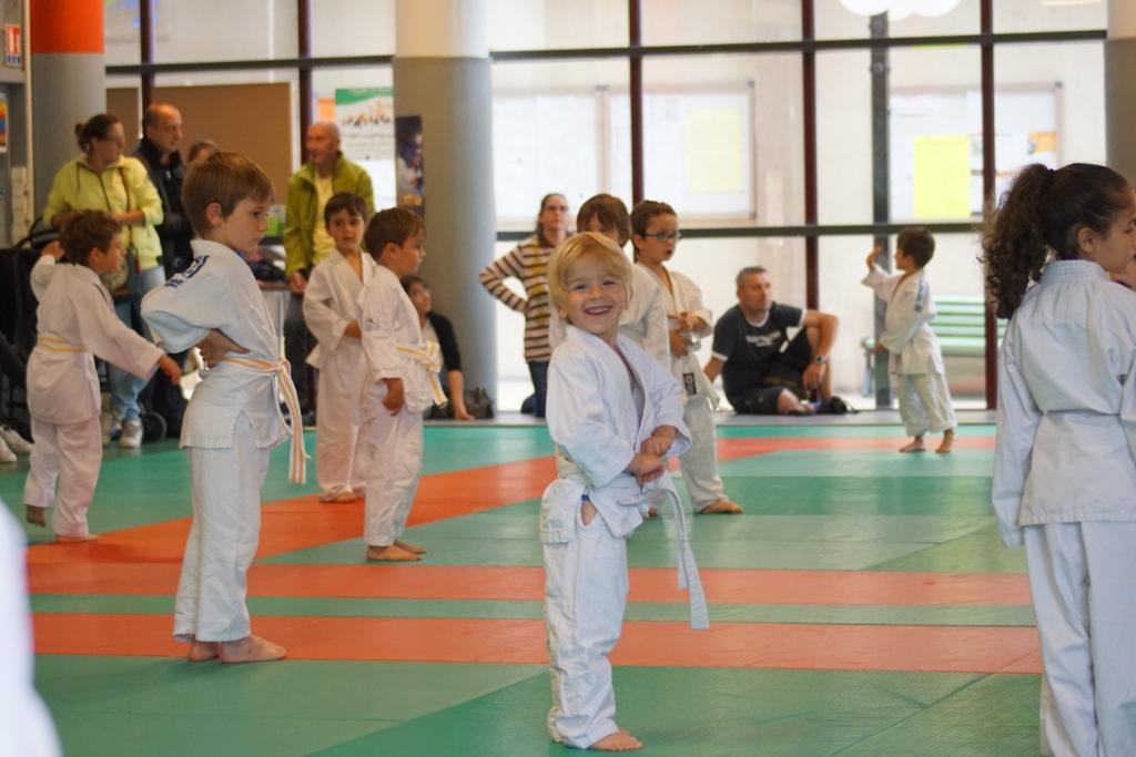 Succès de l animation baby judo