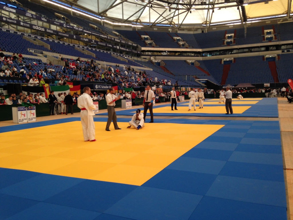 2 ponots Champions d'Europe Jujitsu cadets 2016