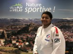 Eva Bisseni en stage au Puy (63)