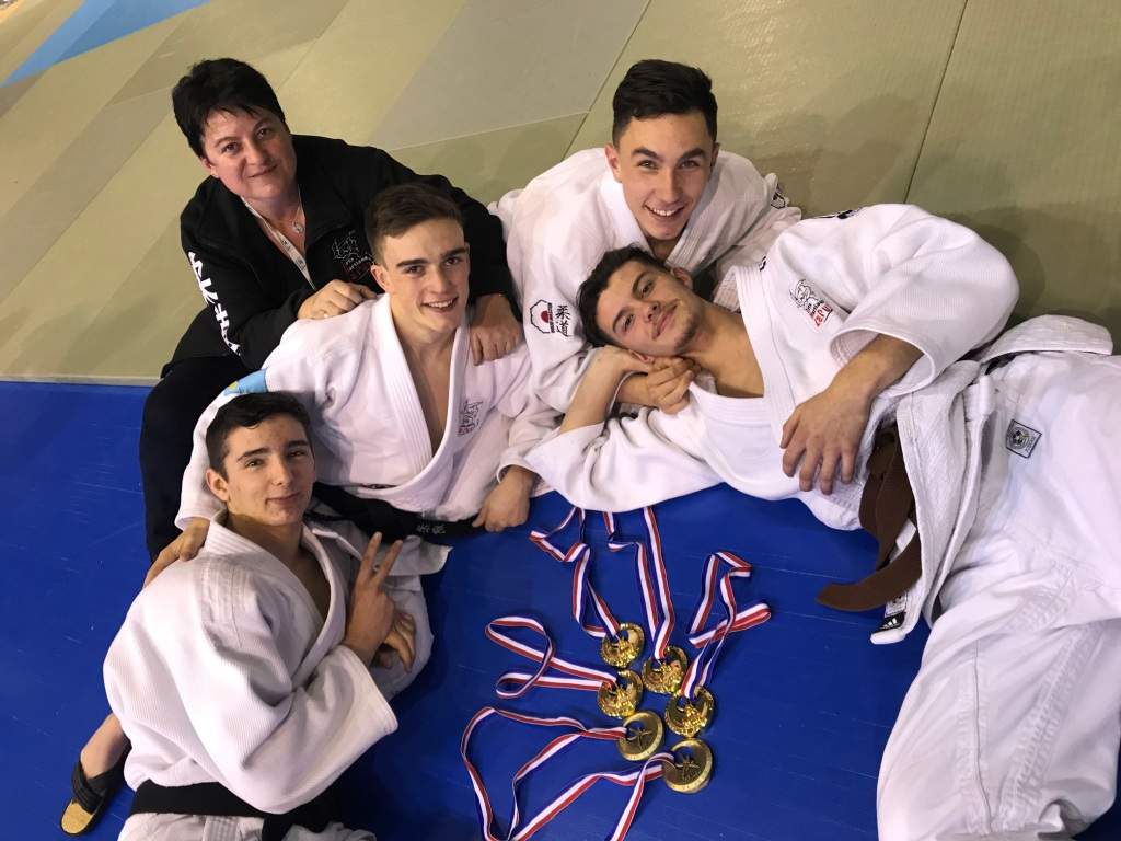 Les ponots brillants aux championnats de France Jujitsu