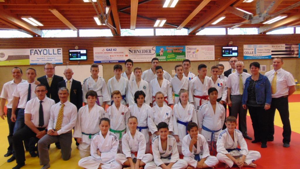 Le plein de podiums pour les benjamins minimes aux regions jujitsu