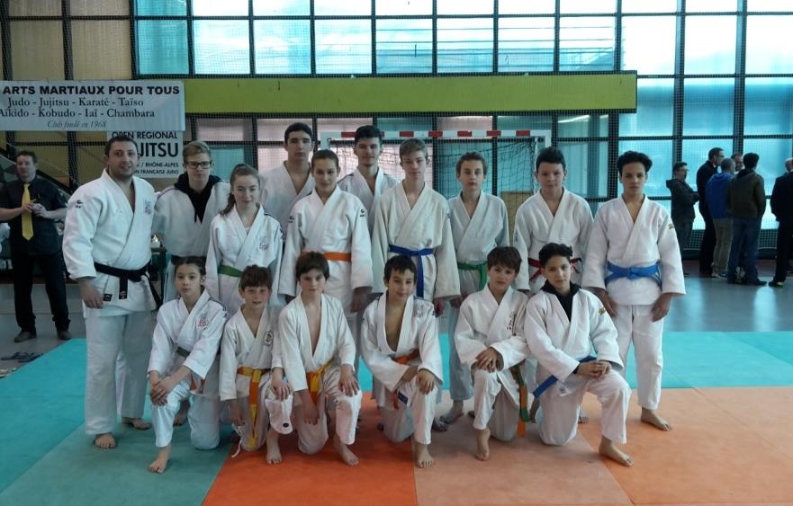 Premier club à l'open régional Jujitsu