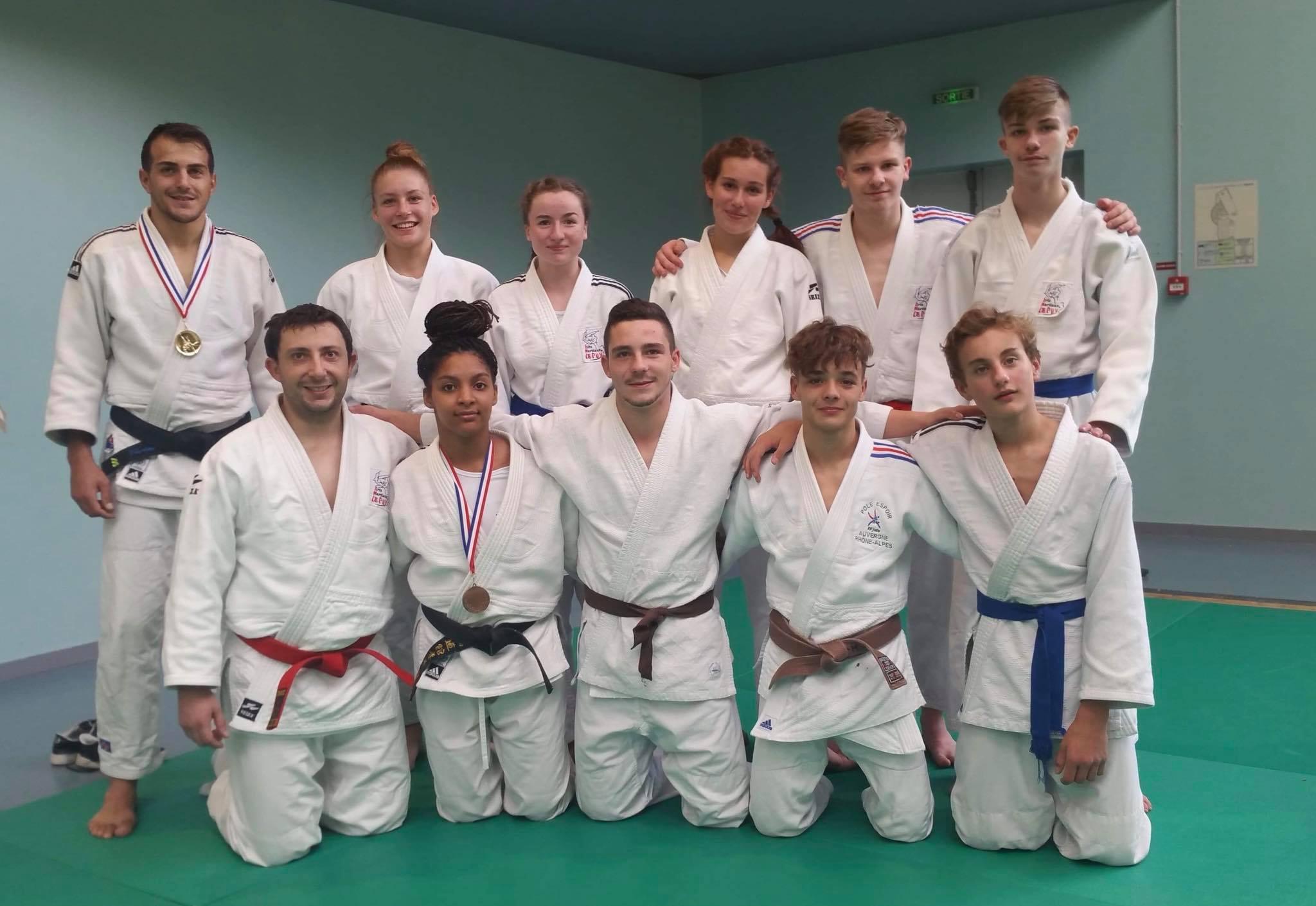 Podiums à la 1/2 finale des championnats de France Jujitsu