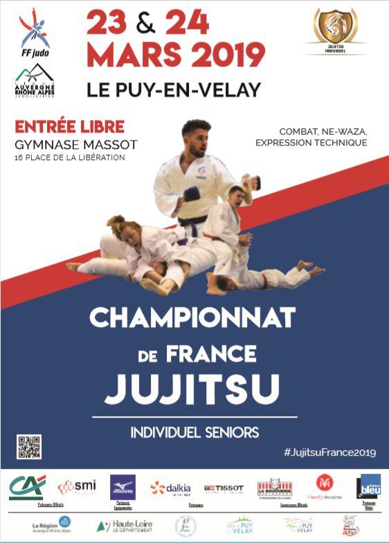 Les Championnats de France Jujitsu au Puy en Velay !