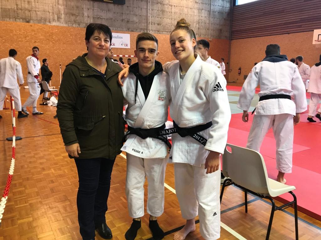 2 Podiums en Judo aux inter-départementaux