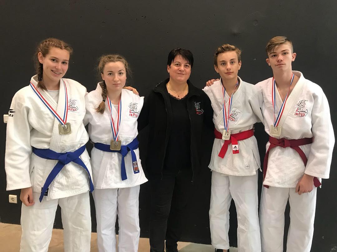 Deux podiums aux championnats de France cadets Jujitsu