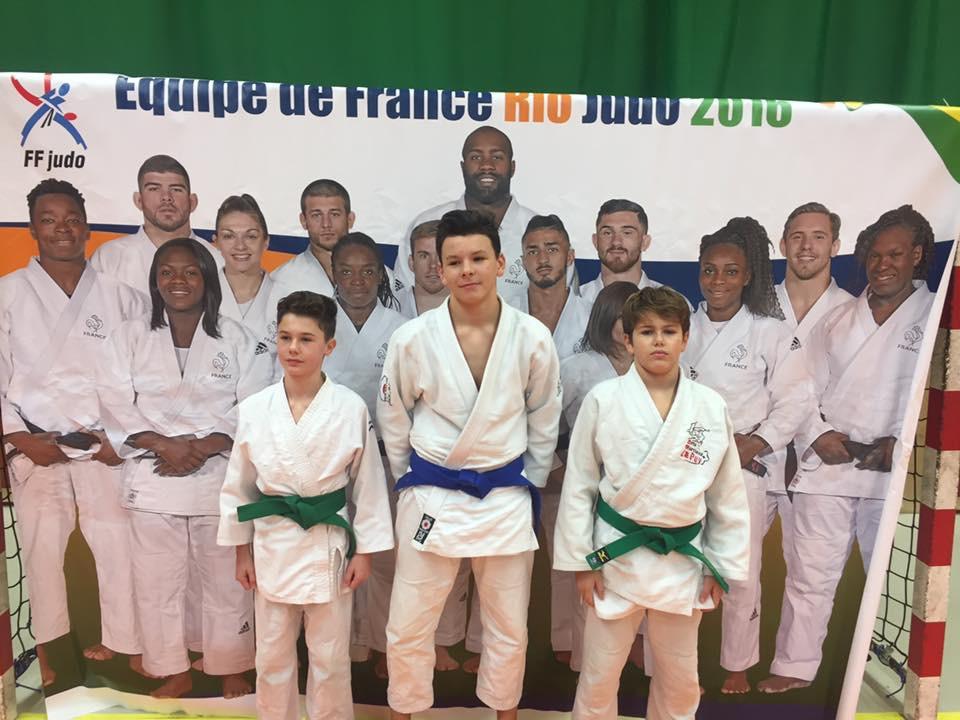 Un podium régional en Judo