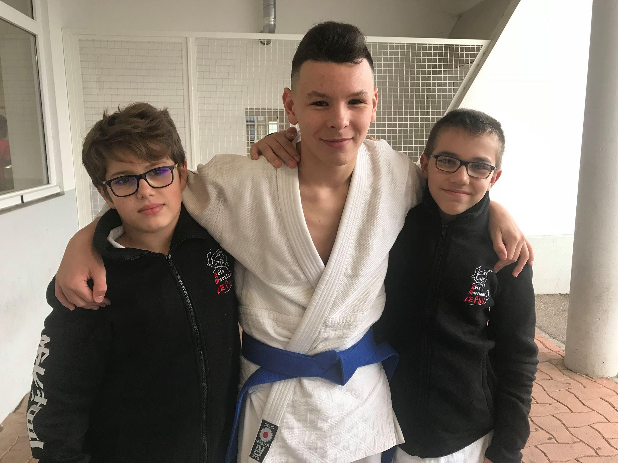 Judo : Médaille de bronze au circuit régional Minimes
