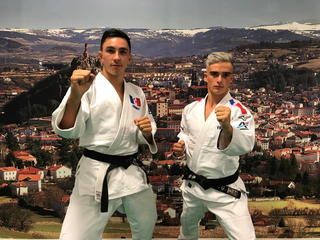 Les ponots Rémi Boulamoy et Pierre Guinant selectionnés pour les championnats d'Europe Jujitsu